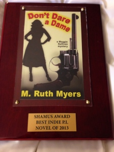 2014 Shamus Award from Private Eye Writers of America