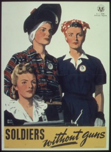 US Army poster of civilian workers