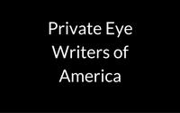 Private Eye Writers of America member badge